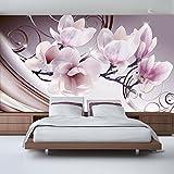 murando - Fototapete 350x256 cm - Vlies Tapete - Moderne Wanddeko - Design Tapete - Wandtapete - Wand Dekoration - Blumen b-A-0222-a-c