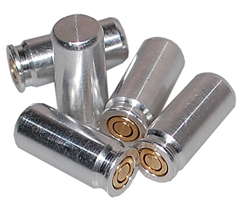 Flachberg 9mm P.A.K Pufferpatrone Pufferpatronen (5 Stück) 9 mm pak (Platzpatronen 9mm)
