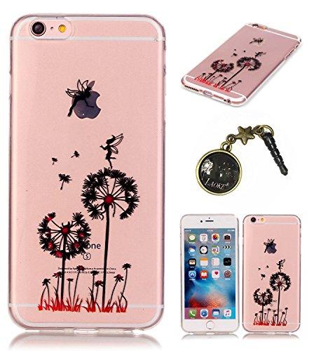 TPU Silikon Schutzhülle Handyhülle Painted pc case cover hülle Handy-Fall-Haut Shell Abdeckungen für Smartphone Apple iPhone 6 6S+Plus (5.5 Zoll)+Staubstecker (E7) 3