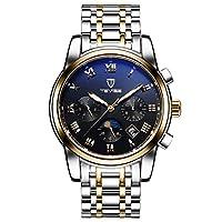 تيفايس ساعة كاجوال انالوج للرجال بسوار من ستانلس ستيل ، ذهبي ،  ، 9005G-SGB