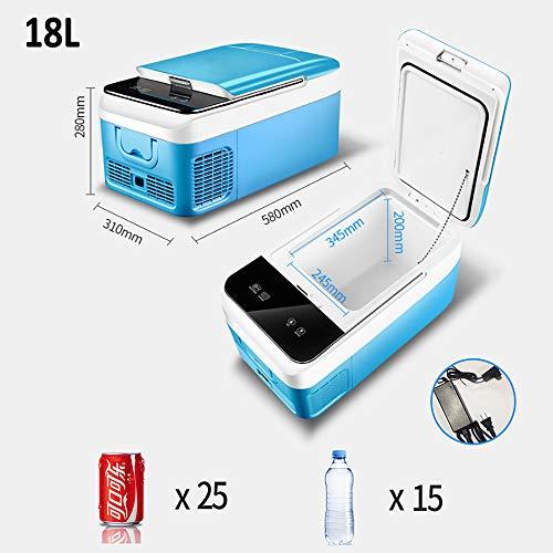 LIUWEI (18-26L) compresor Refrigerador Coche, Termoeléctrica Portátil Mini Pequena Neveras Viaje, Eléctrica...