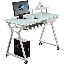 Protector mesa escritorio transparente for Mesas de escritorio amazon