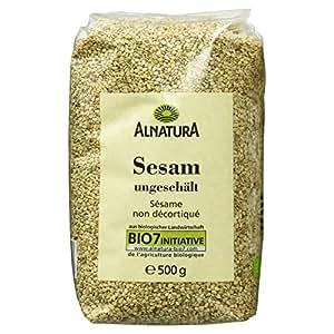 Alnatura Bio Sesam ungeschält, 500 g