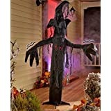 Halloween 5' Animated Haunted Tree With Sound