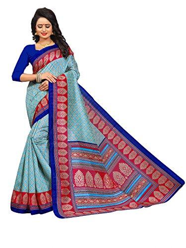 Kanchan Women's Cotton Silk Saree With Blouse PieceWomen's Kalamkari Khadi Silk Saree...