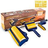 Sticky Clean Rollers Lint Rollers (3 Pieces) - (UnityJ UK) by Unity J