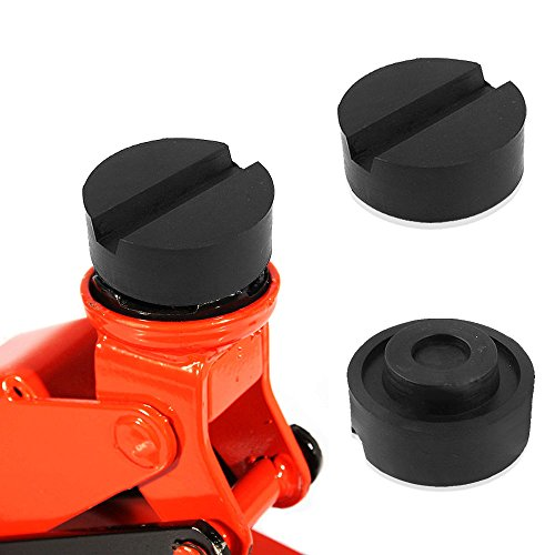 Wagenheber Gummiauflage, Aodoor Gummiauflage 65mmX 25mm mit Nut für Wagenheber und Hebebühnen ideal auch als Wagenheber Gummiblock