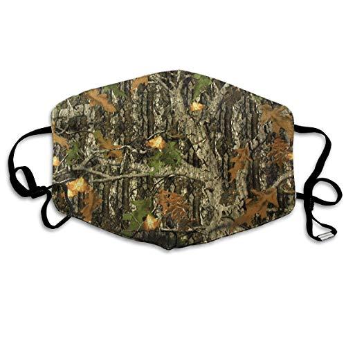 Camo Hockey Maske - Vbnbvn Unisex Mundmaske,Wiederverwendbar Anti Staub Schutzhülle,Hunting