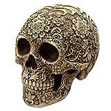 MagiDeal Halloween Schädel Figur Harz Skelett Modell Totenkopf Dekoration für Halloween oder Grusel Partys