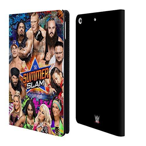 Offizielle WWE Gruppe 2017 Summerslam Brieftasche Handyhülle aus Leder für Apple iPad mini 4