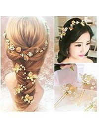 Gioielli da sposa perle di cristallo d epoca sono bande di vite per capelli b7dc2c756dd9