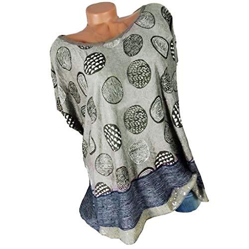 Damen drucken Bluse MEIbax Damen Drucken Shirt Kurzarm Sommer Tops Damenbekleidung Sale OberteileDamen Bluse Elegant Chiffon