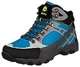 Guggen Mountain Zapatillas de Senderismo Zapatos Para Caminar Botas de Montaða Montana Mujer M011, Color Azul, EU 39