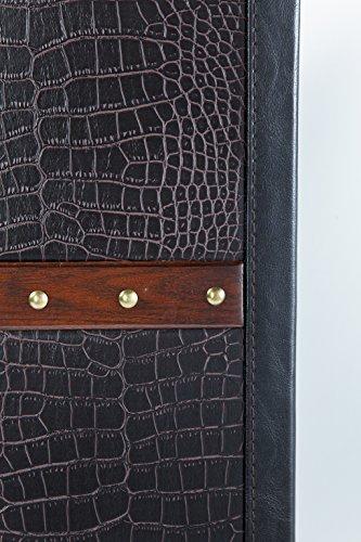 Kare Design Schrankkoffer Bar Colonial, Barkoffer im Kolonialstil, Braun (H/B/T) 154x61x61cm - 4