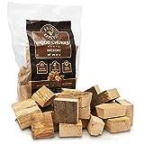 Grill Republic Smoker Chips Hickory für kräftiges Raucharoma/Wood Chips Sortenrein/Räucherchips...
