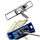 MAM Professional 42cm Edelstahl bodenexpress wischmop Stiel. 2 mop