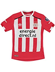 Umbro Kinder Jungen PSV Eindhoven Home Fussball Trikot Kurzarm Shirt Heim 2016 2017