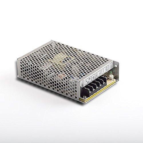 Fuente de alimentación LED transformador MeanWell RS de 75–24fuente de alimentación conmutada, 24V/3,1A/75W LED transformador para iluminación LED