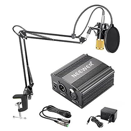 Neewer NW-800 Kit de Micrófono de Condensador d...