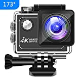 Panlelo V1 Action Cam 4K 173 ° Weitwinkel 16MP HD