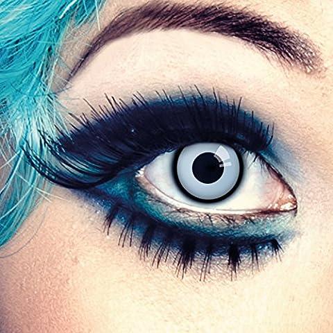 Couleur des lentilles de contact Flying High de aricona – années couvrant la lentille à terme pour les yeux sombres et claires- sans correction- les lentilles colorées pour le carnaval- des soirées à thème et des costumes d'Halloween
