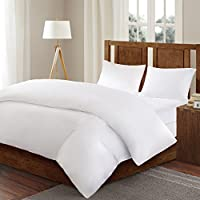 3M Scotchgard Comforter Protector Duvet Cover with Zipper Flap - Waterproof - Hypoallergenic - Protect Against Dust Mites, Allergens, and Animal Stains - Full/Queen - Bed Guardian by Sleep Philosophy