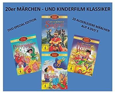 20er Märchen - und Kinderfilm Klassiker ( DVD Special Edition ) ( mit Das Dschungelbuch - Die Schöne und das Biest - Mulan - Po