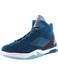 official photos f1195 23088 Nike Air Jordan Flight Remix Sneaker Basketballschuhe blau schwarz weiß