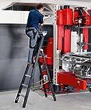 ZARGES LM-Schwerlast-Stehleiter 5 Sprossen Z600