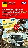 ADAC Camping- und Stellplatzführer Frankreich, Spanien, Portugal, Schweiz 2017 (ADAC Campingführer) - ADAC Verlag GmbH & Co KG