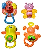 Blossom Baby Teether Rattle Music Revolv...