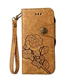 DENDICO Coque iPhone 4 / iPhone 4S, Portefeuille en Cuir pour Apple iPhone 4 / iPhone...