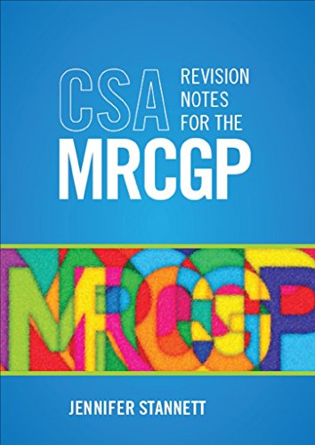 [(CSA Revision Notes for the MRCGP)] [By (author) Jennifer Stannett] published on (March, 2011)