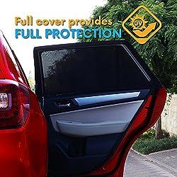 Baby 1st Car Window Sun Shades -2020 Premium Version -Breathable Mesh Car Window Shade -Protect Kids/Pets From Sun Glare