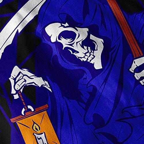 Tod Horror Grimmig Schnitter Damen S-2XL T-shirt | Wellcoda Black