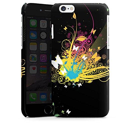 Apple iPhone 5s Housse étui coque protection Motif Motif Abstrait Cas Premium brillant