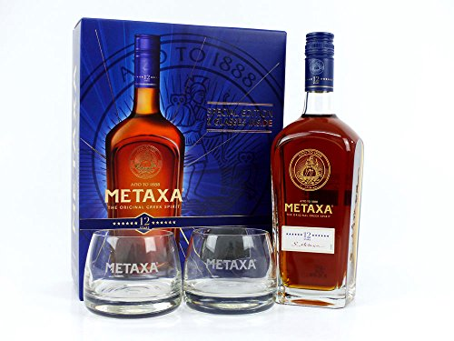 Metaxa 12 Geschenkset 0,7l 40%