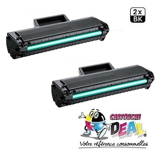 Prestige cartridge mlt-d1042s kit 2 toner compatibili per samsung ml-1660, ml-1665, ml-1670, ml-1675, ml-1860, ml-1865, ml-1865w, scx-3200, scx-3201, scx-3205, scx-3205w, scx-3206, scx-3217, scx-3218