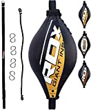 RDX Doble End Velocidad Bola Peras Boxeo Pera MMA Rapida Speed Bag Gimnasio Entrenamiento