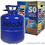 Helium Ballongas Heliumflasche Ballon Gas Party für 50 Luftballons 22,3 Liter