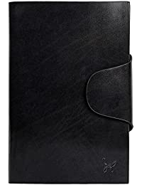 Rohit Bal Black Leather Organiser for Men