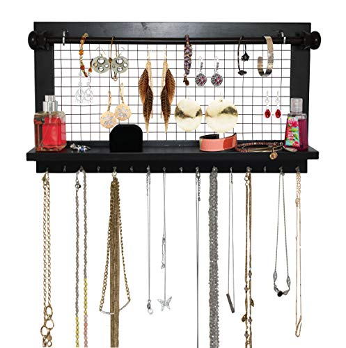 Espresso-bad (Jewelry Organizer mit Armband Rod 17