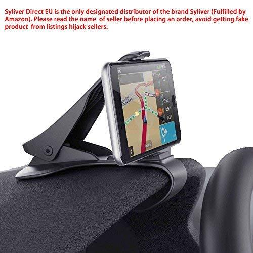 Telefon-Halterung für Auto KFZ Halterung Befestigung Leistungsstarke für die Smartphone iPhone 7 7Plus 6S 6splus 6 6Plus, Nokia, Wiko, Huawei, Xiaomi, HTC, Sony und andere Geräte weniger von 6,5 Odyssey Mobile Gps
