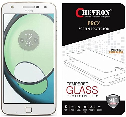 Chevron 0.3mm Pro+ Tempered Glass Screen Protector For Moto Z Play (Motorola Z Play)