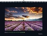 Farben der Erde: Europa 2018: Kalender 2018 (KUNTH Wandkalender Black Edition)