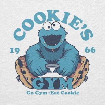 Texlab–Cookie s Gym–sacchetto di stoffa Bianco