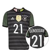 adidas DFB Trikot Away Gündogan EM 2016 Kinder 176 - XL