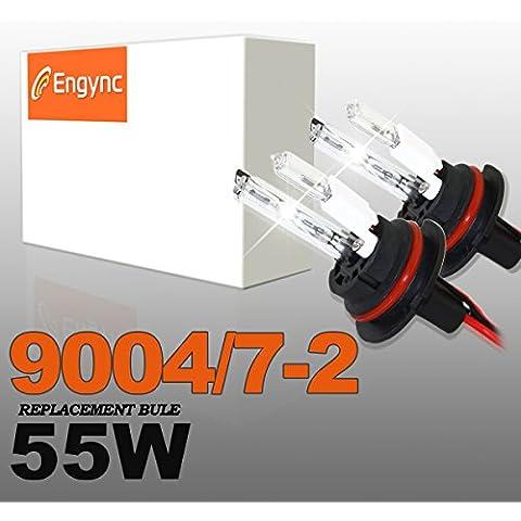 Engync 55W 9004 HID Xenon alogena (HB1) Lo / Hi lampadine di ricambio | Hi / Low 8000K
