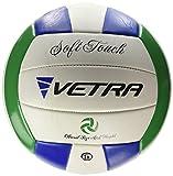 Vetra volley-ball doux au toucher Volley Ball Taille officielle 5Vert/bleu/blanc extérieur intérieur Plage salle de sport Jeu Balle New