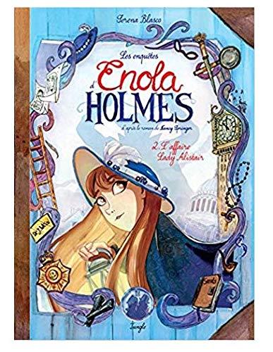 Les Enquêtes d'Enola Holmes n° 2 Edition collector L'affaire Lady Alistair